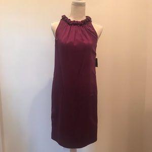 Purple/Plum Taylor Dress Size 2 NWT